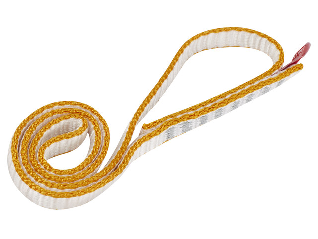 Ocun O-Sling DYN 11mm 30cm - orange/blanc